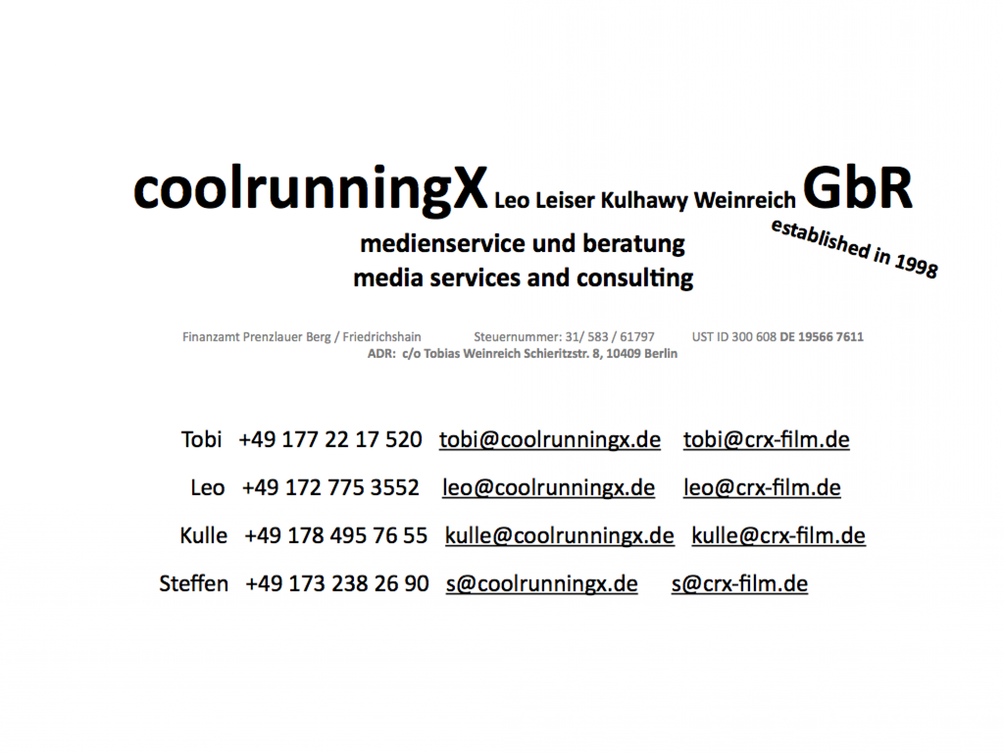 coolrunningx GBR